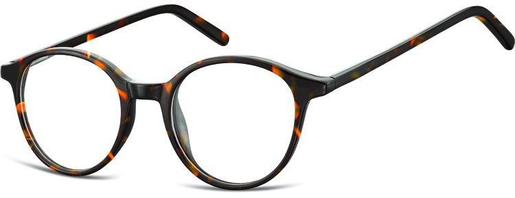 Okulary oprawki zerówki korekcyjne lenonki Unisex Sunoptic AC23A panterka