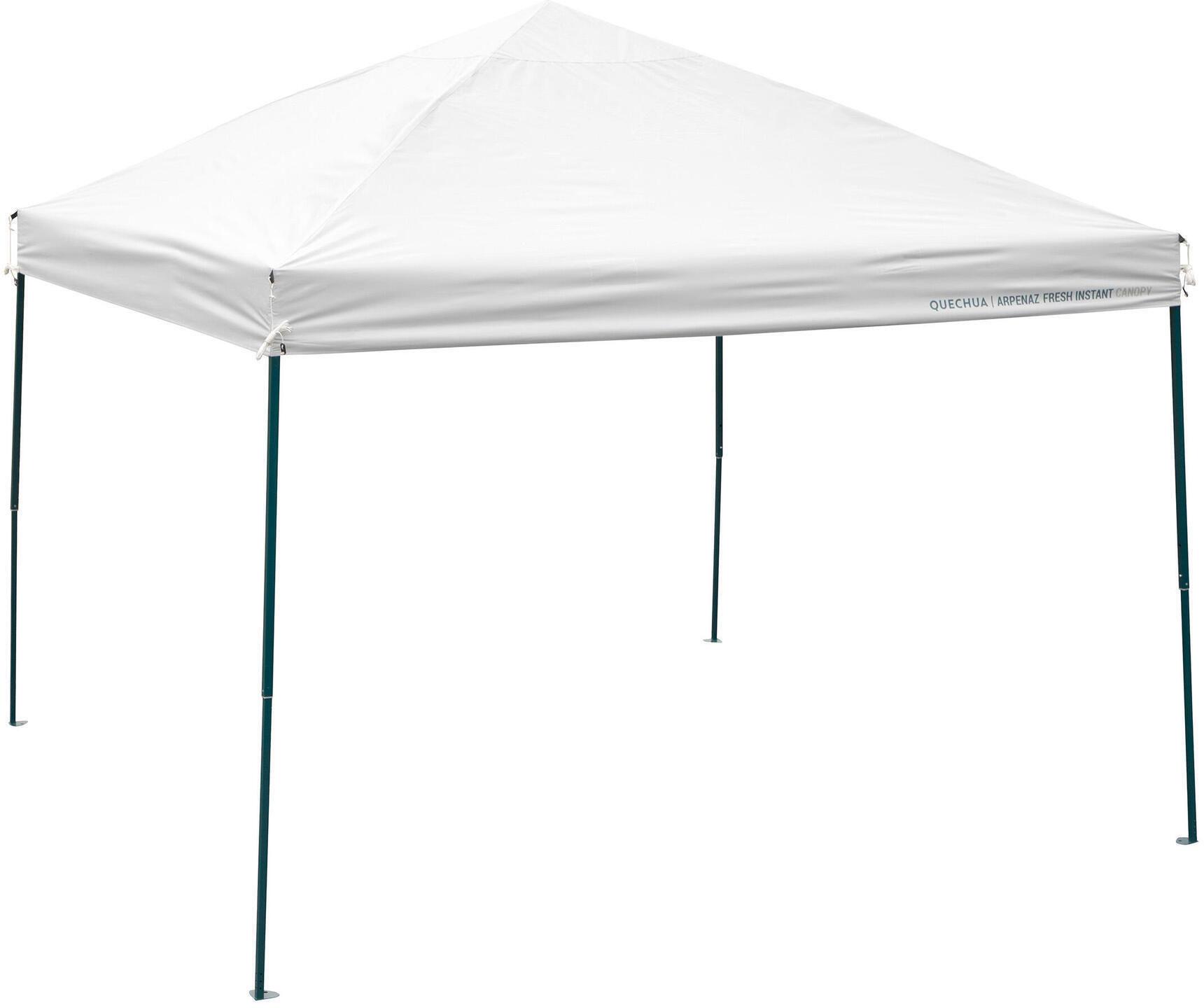 Przedsionek kempingowy - Arpenaz Fresh Instant Canopy - dla 8 osób