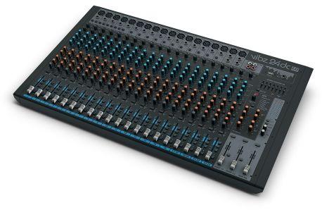 LD Systems VIBZ 24 DC mikser analogowy DFX i kompresorem, 24-kanałowy