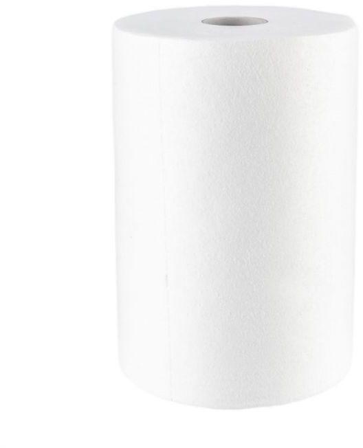 Czyściwo bawełniane białe, rolka, długość 100 m