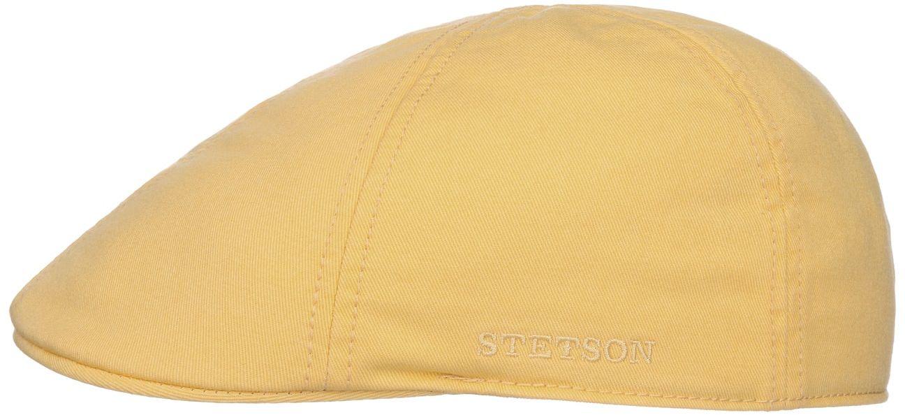 Płaski Kaszkiet z Ochroną UV Texas by Stetson, żółty pastelowy, cm