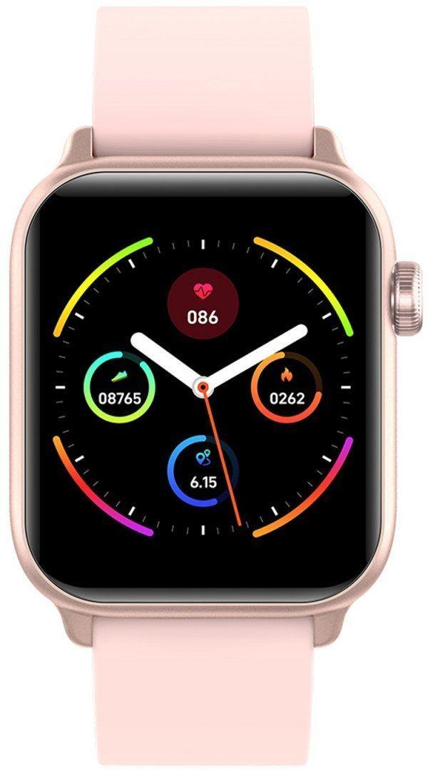 Zegarek SMARTWATCH G.ROSSI SW013-1 Różowy styl