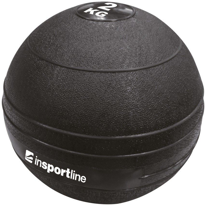 Piłka Slam Ball 2 kg - Insportline - 2 kg
