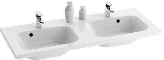 Ravak umywalka podwójna Chrome 1200 z przelewem XJG01112000