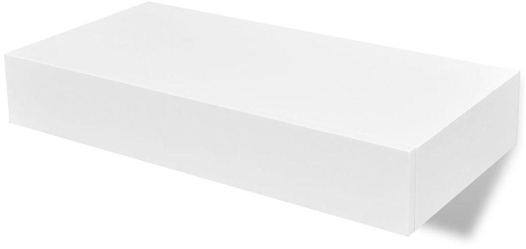 Półka ścienna Mayer 2X - biała