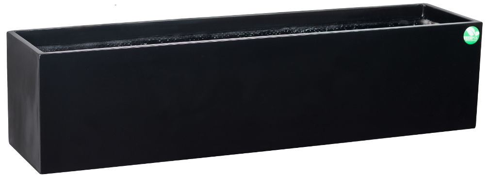 Donica z włókna szklanego D109A czarny połysk