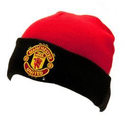 Manchester United - czapka zimowa juniorska