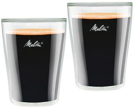 Melitta szklanki do kawy Verres café 2x200 ml