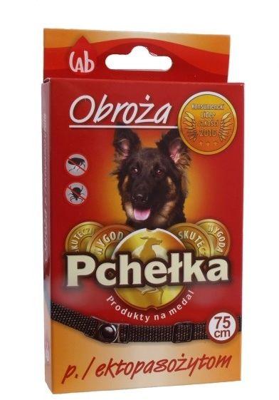 LAB PCHEŁKA - Obroża przeciw ektopasożytom dla ogromnych psów 75cm