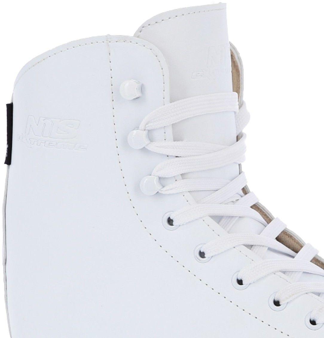 Łyżwy figurowe Nils Extreme NF8565S białe Rozmiar buta: 40