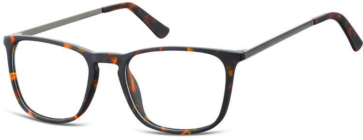 Okulary oprawki zerówki korekcyjne nerdy Unisex Sunoptic AC25 panterka