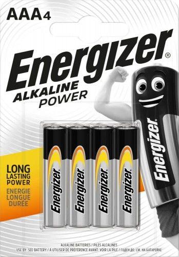 4 x Bateria alkaliczna AAA / LR03 Energizer Alkaline Power