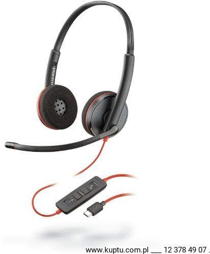 Blackwire 3220 przewodowy zestaw słuchawkowy USB C (209749-101)