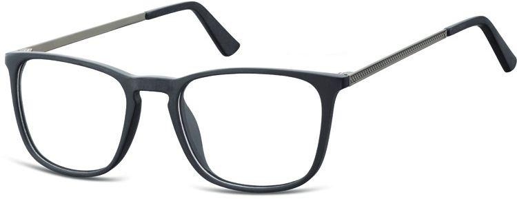 Okulary oprawki zerówki korekcyjne nerdy Unisex Sunoptic AC25B czarne
