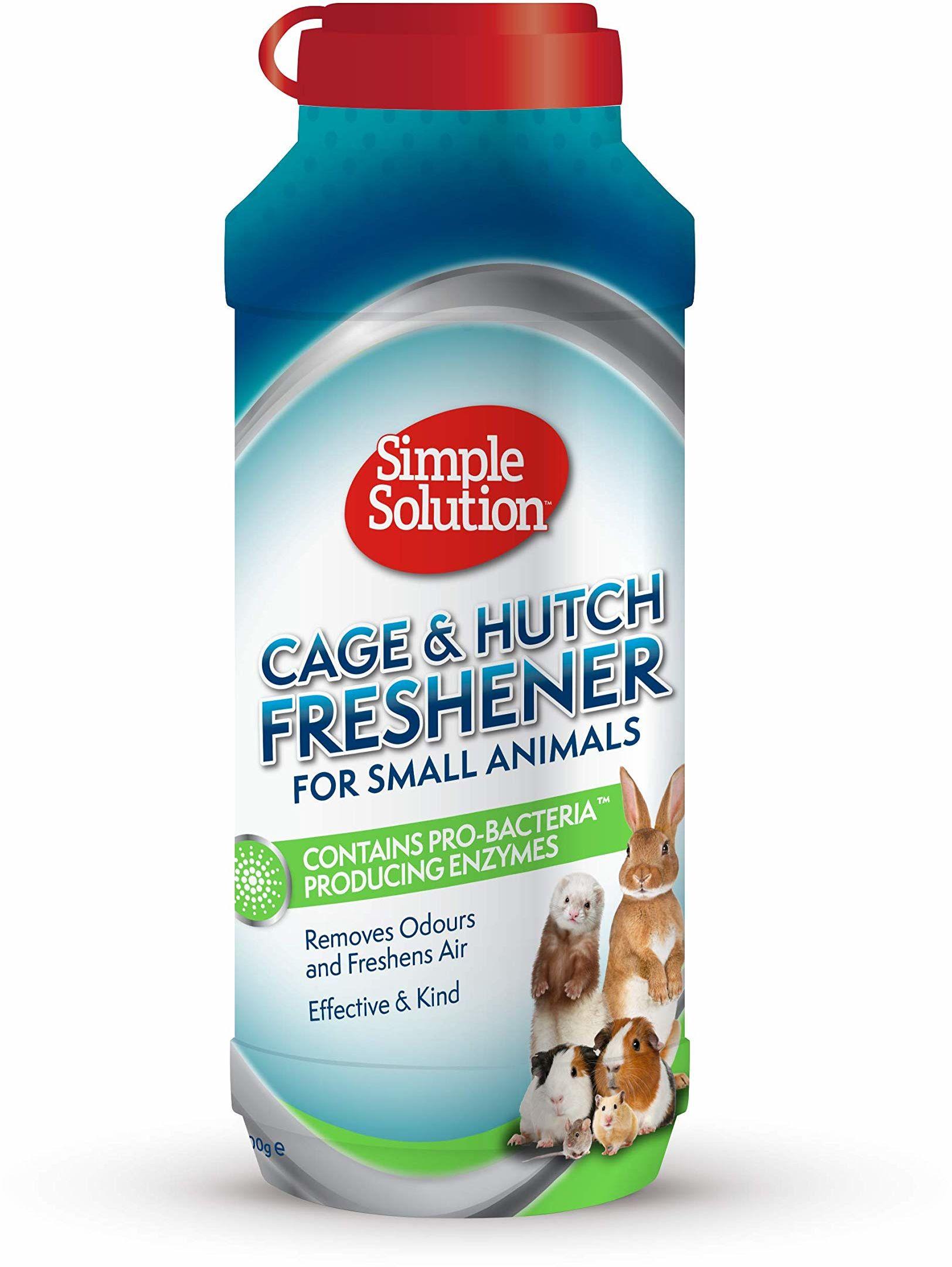 Simple Solution 90559-4p klatka granulatu odświeżającego, czyści i odświeża klatki, schroniska dla psów i wielu innych łatwo i skutecznie