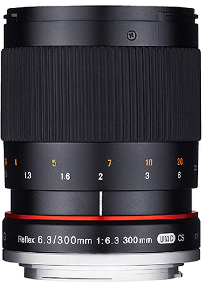 Obiektyw Samyang 300mm F6.3 mirror Sony A czarny
