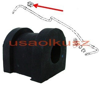 Tuleja guma tylnego stabilizatora 20mm Mitsubishi Outlander 2006-