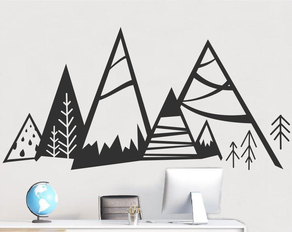 Naklejka Góry