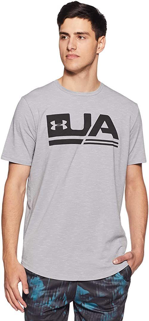 Under Armour koszulka męska UA Sportstyle Ss szary Grau (Steel/Black (036)) M