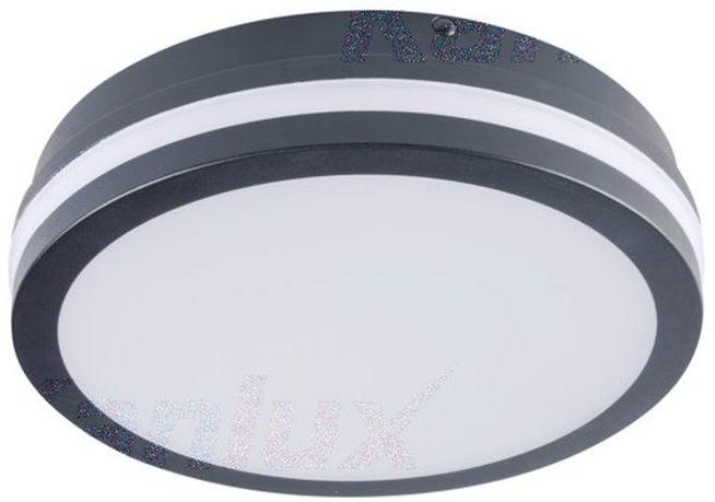 Plafoniera LED BENO 18W NW-O-SE GR 1550lm 4000K IP54 z czujnikiem ruchu 32945