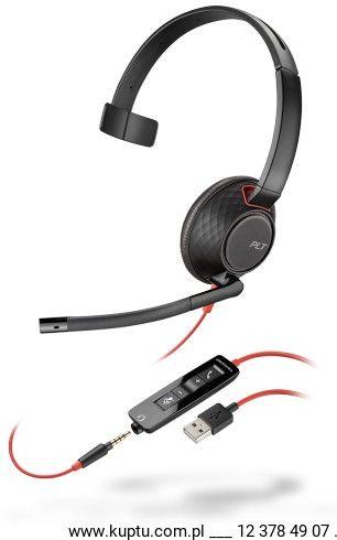 Blackwire 5210 przewodowy zestaw słuchawkowy USB A (207577-01)