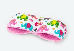 MAMO-TATO Mufka do wózka minky Słoniaki różowe / róż