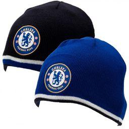 Chelsea Londyn - czapka zimowa dwustronna