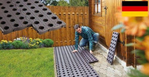 Płytka ścieżka ogrodowa MaXi, 600kg m2, Prosty montaż