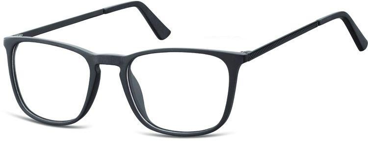 Okulary oprawki zerówki korekcyjne nerdy Unisex Sunoptic AC25G czarne