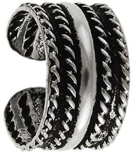 Srebrne kolczyki 925 nausznica wzór 0,4 g