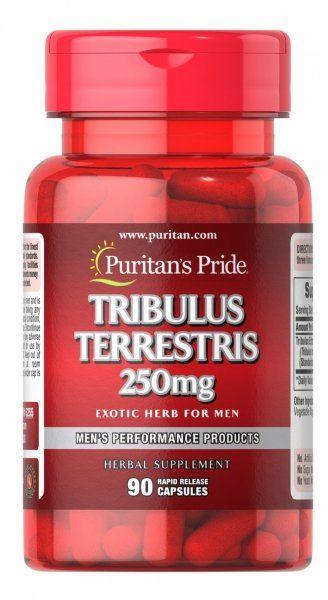 Tribulus Terrestris 250 mg, Puritan''s Pride, 90 kapsułek