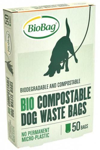 Worki na psie odchody 50 szt (kompostowalne i biodegradowalne) Biobag