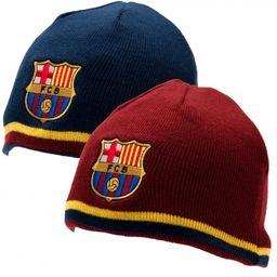 FC Barcelona - czapka zimowa dwustronna