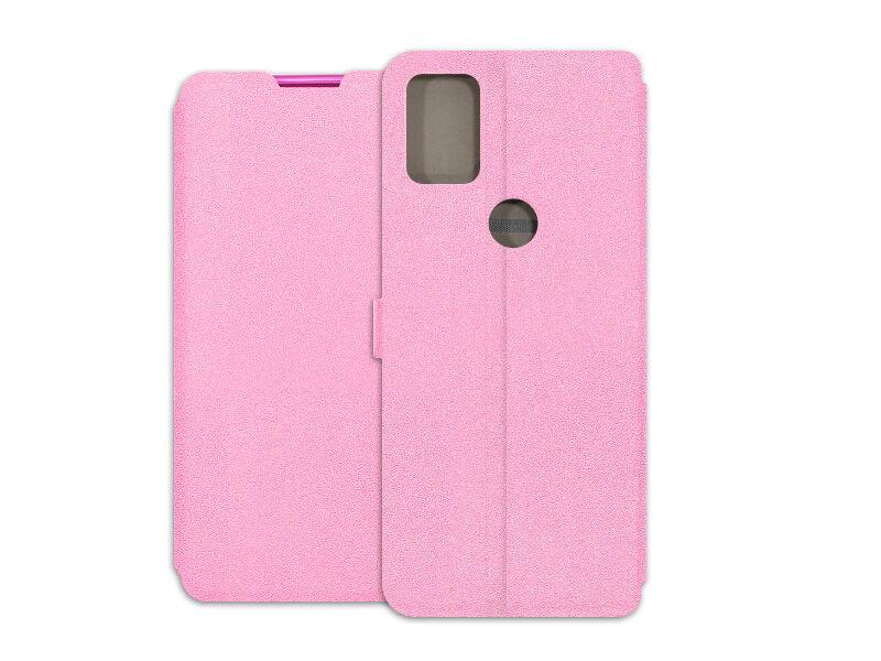 Alcatel 3X (2020) - etui na telefon Wallet Book - różowy