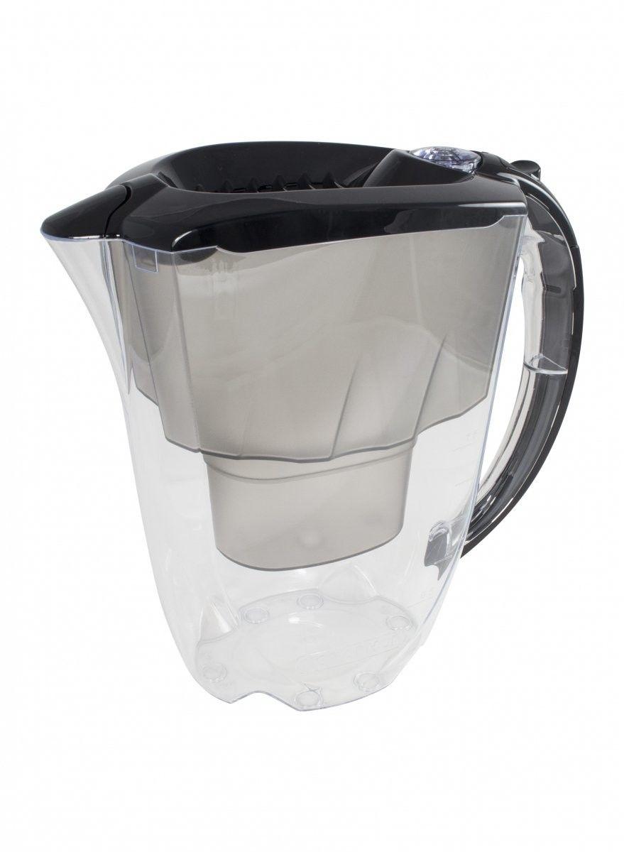Aquaphor Amethyst Czarny Dzbanek do wody 2,8L filtr 3 szt B100-25 Maxfor