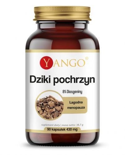 Dziki pochrzyn - 8% Diosgeniny - 90 kaps Yango