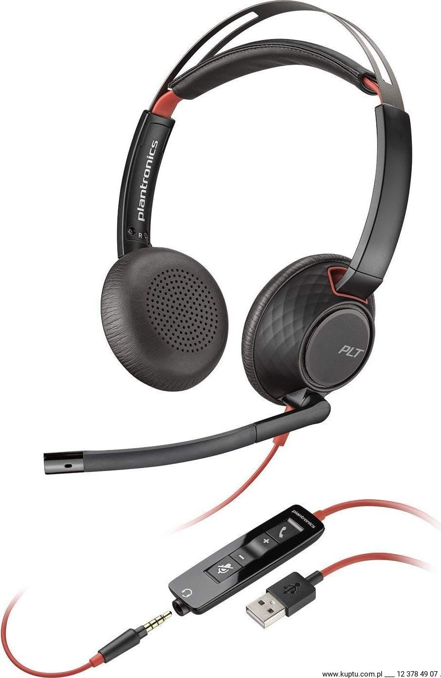 Blackwire 5220 przewodowy zestaw słuchawkowy USB A (207576-01)