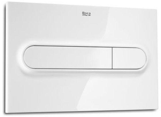 Roca Duplo One PL1 przycisk spłukujący podwójny biały A890195000