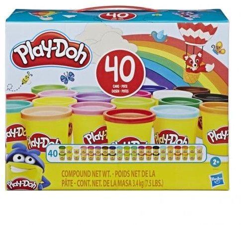 Hasbro - Play Doh Ciastolina 40-pack 3,4kg E9413