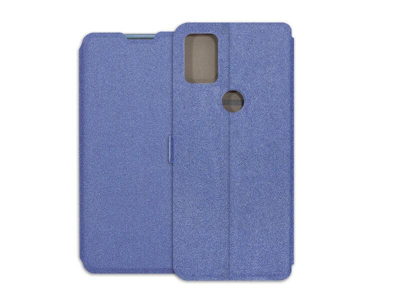 Alcatel 3X (2020) - etui na telefon Wallet Book - granatowy