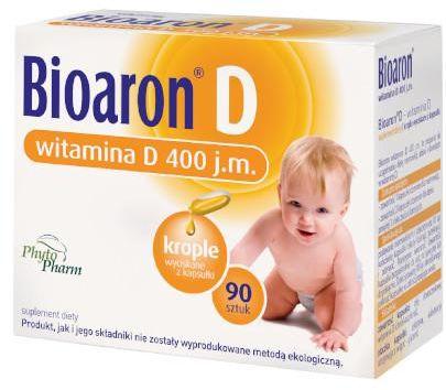 Bioaron witamina D 400j.m. 90 kapsułek