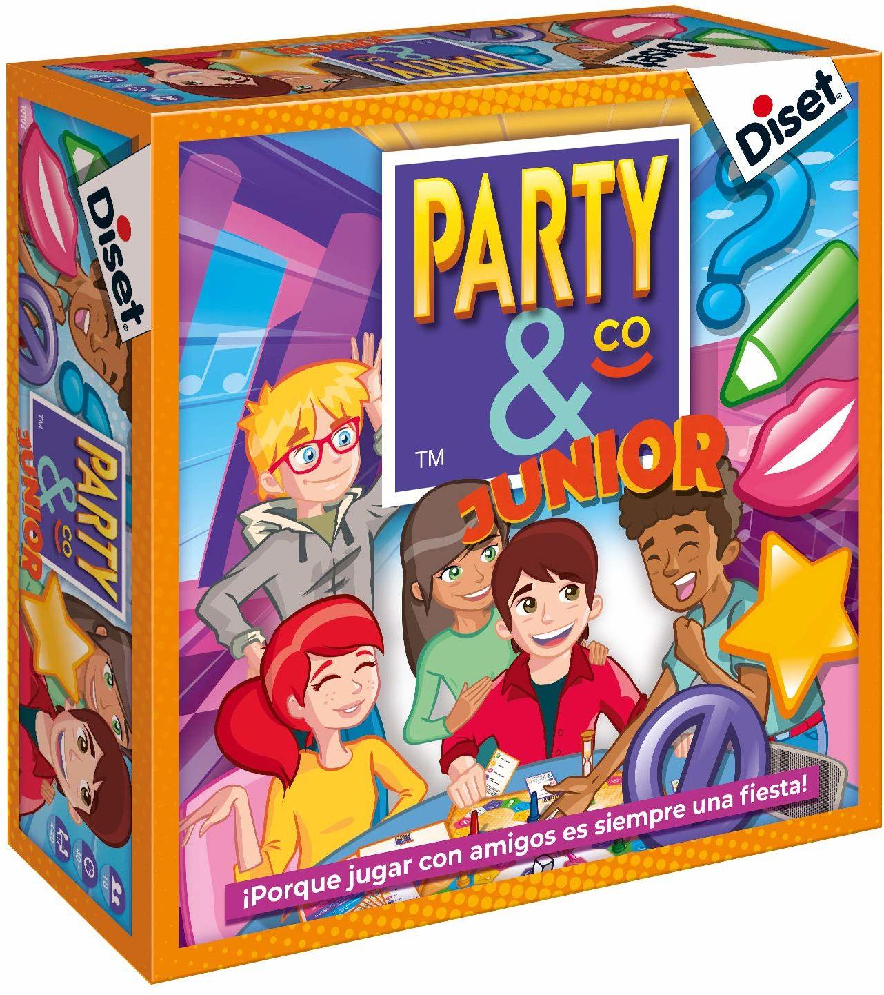 Diset Party & Co Gra Party & Co Junior Sin talla kolorowy