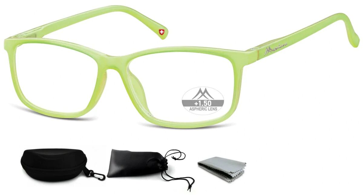 Asferyczne Okulary do Czytania Montana Plusy MR62D moc:+1
