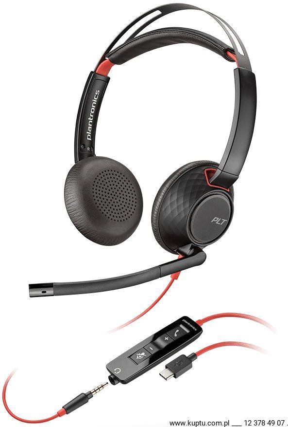 Blackwire 5220 przewodowy zestaw słuchawkowy USB C (207586-01)