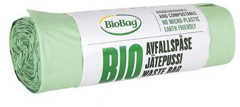 Worki na odpady BIO i zmieszane 35 L 20 szt (kompostowalne i biodegradowalne) Biobag