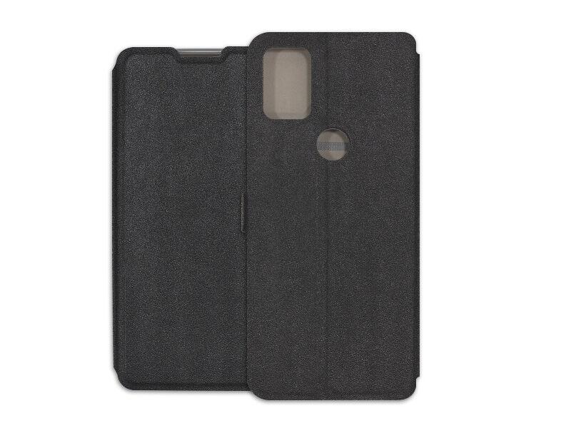 Alcatel 3X (2020) - etui na telefon Wallet Book - czarny