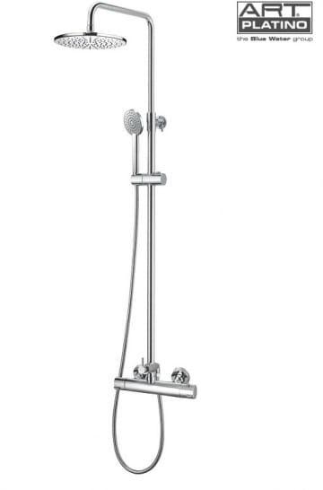 Art Platino Term zestaw termostatyczny prysznicowo-wannowy chrom TER-ZKPN.400C