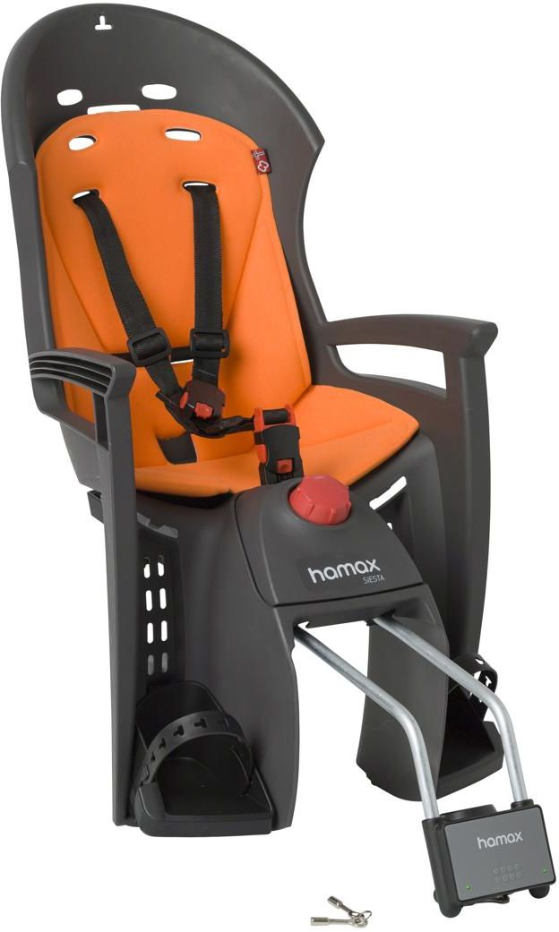 Fotelik rowerowy HAMAX Siesta pomarańczowy