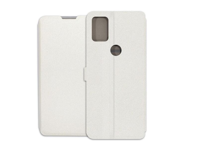 Alcatel 3X (2020) - etui na telefon Wallet Book - biały