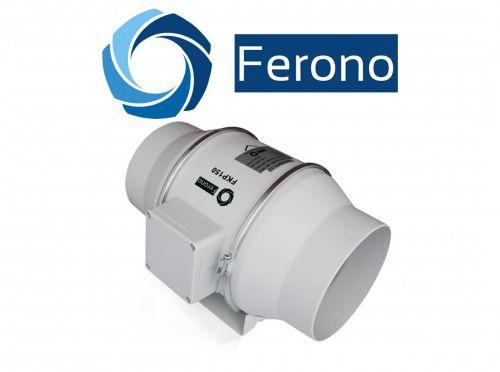 Wentylator kanałowy, osiowy, plastikowy 150mm, 530 m3/h (FKP150)